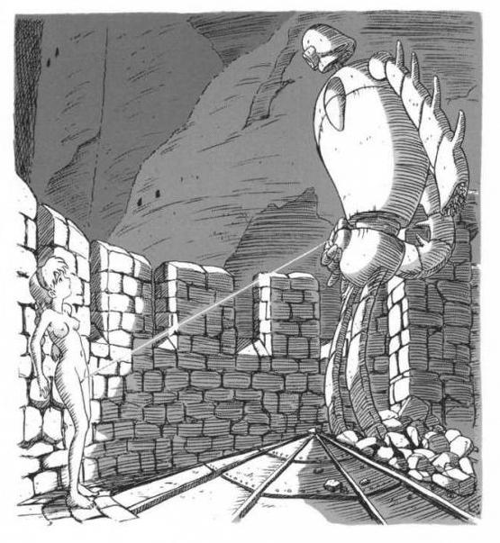 【※スタジオズブリ※】やっぱ名作だったラピュタのエロ画像集めたら想像以上に下衆で草不可避wwwwwwwww(画像あり)・26枚目