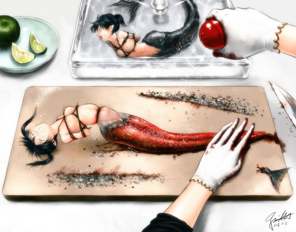 【※閲覧注意※】「お 料 理 さ れ ち ゃ っ た ( 意 味 深 ) 」   っ て い う 女 の 子 の 画 像 貼 っ て く。(画像あり)・21枚目