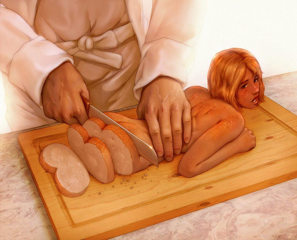 【※閲覧注意※】「お 料 理 さ れ ち ゃ っ た ( 意 味 深 ) 」   っ て い う 女 の 子 の 画 像 貼 っ て く。(画像あり)・25枚目