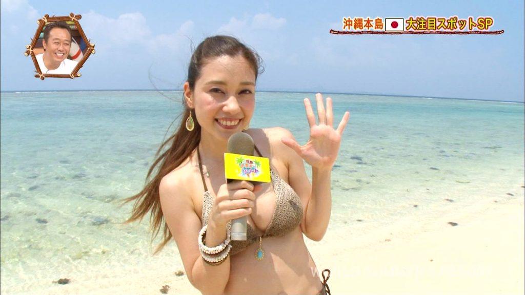 【※おっき不可避※】世界さまぁ~リゾート沖縄編、美巨乳女子、乳デカすぎて下乳飛び出すwwwwwwwwwwwwwwwwww(画像あり)・16枚目