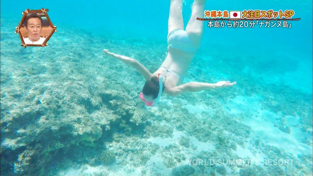 【※おっき不可避※】世界さまぁ~リゾート沖縄編、美巨乳女子、乳デカすぎて下乳飛び出すwwwwwwwwwwwwwwwwww(画像あり)・27枚目