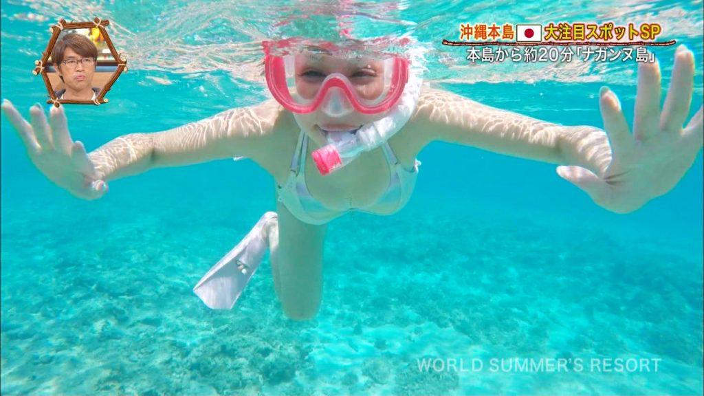 【※おっき不可避※】世界さまぁ~リゾート沖縄編、美巨乳女子、乳デカすぎて下乳飛び出すwwwwwwwwwwwwwwwwww(画像あり)・30枚目