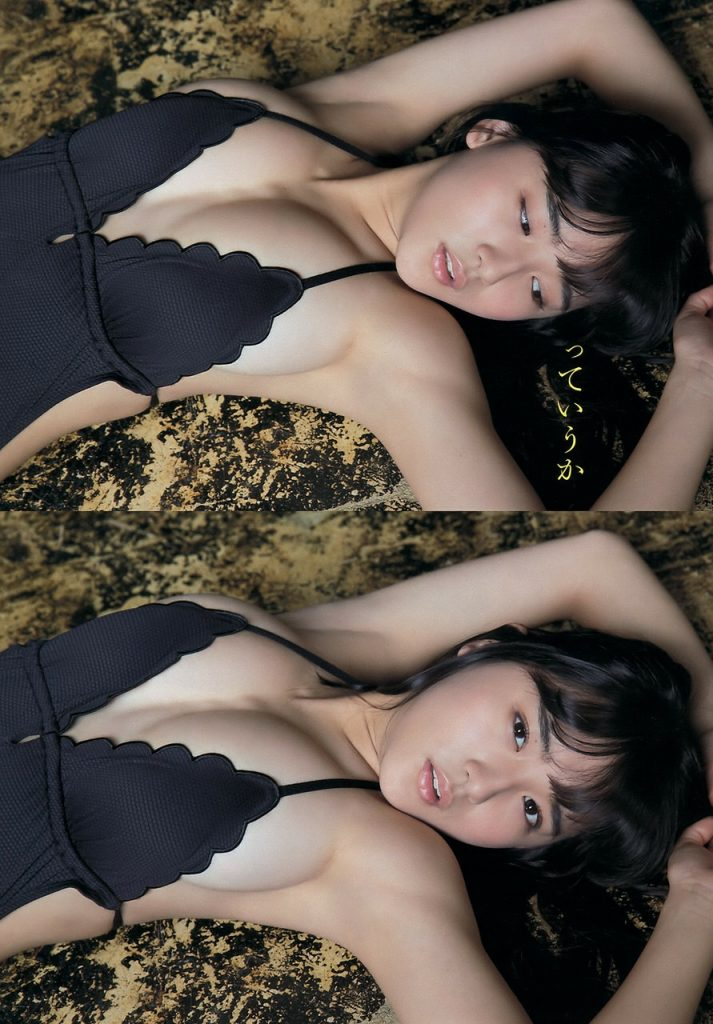 【1000年に一度の童顔巨乳!】浅川梨奈のグラビアエロ過ぎワロタww 「これが17歳の下乳かよ」「シコシコが止まらない」(※画像あり※)・8枚目