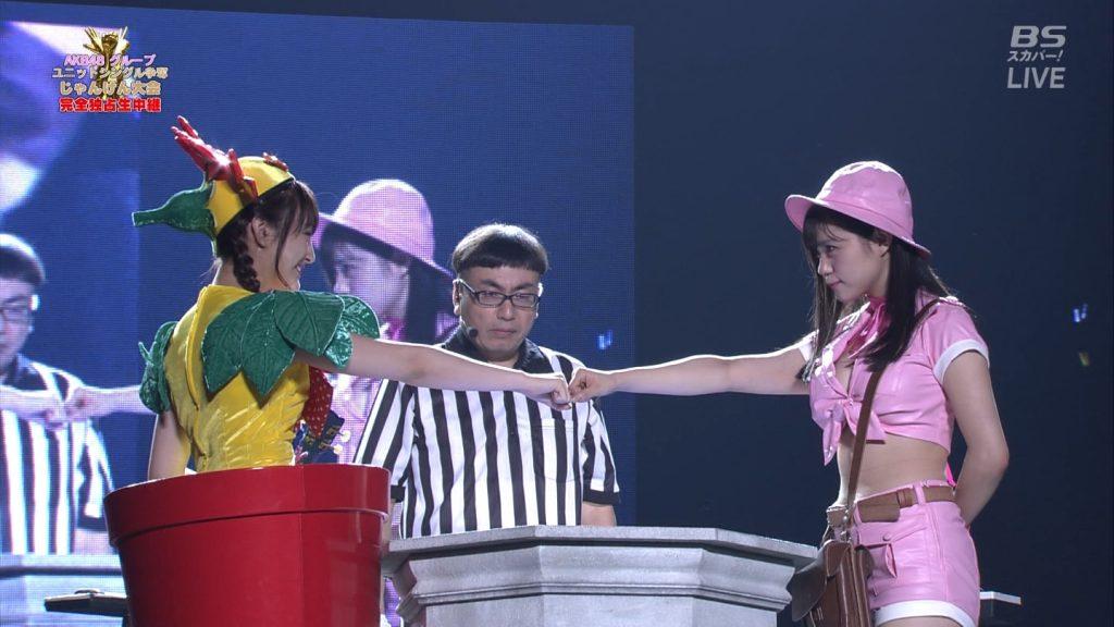 【※速報・朗報※】AKB48じゃんけん大会、小嶋菜月の乳が凄すぎて他全員かすむwwwwwwwwwwwwwwwwwwwwww(画像あり)・23枚目