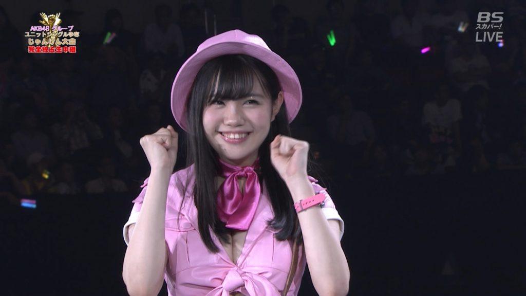 【※速報・朗報※】AKB48じゃんけん大会、小嶋菜月の乳が凄すぎて他全員かすむwwwwwwwwwwwwwwwwwwwwww(画像あり)・31枚目