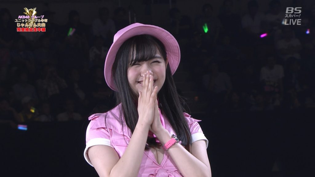 【※速報・朗報※】AKB48じゃんけん大会、小嶋菜月の乳が凄すぎて他全員かすむwwwwwwwwwwwwwwwwwwwwww(画像あり)・32枚目