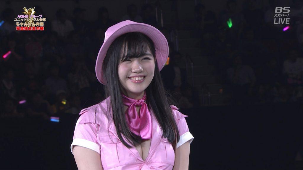 【※速報・朗報※】AKB48じゃんけん大会、小嶋菜月の乳が凄すぎて他全員かすむwwwwwwwwwwwwwwwwwwwwww(画像あり)・33枚目