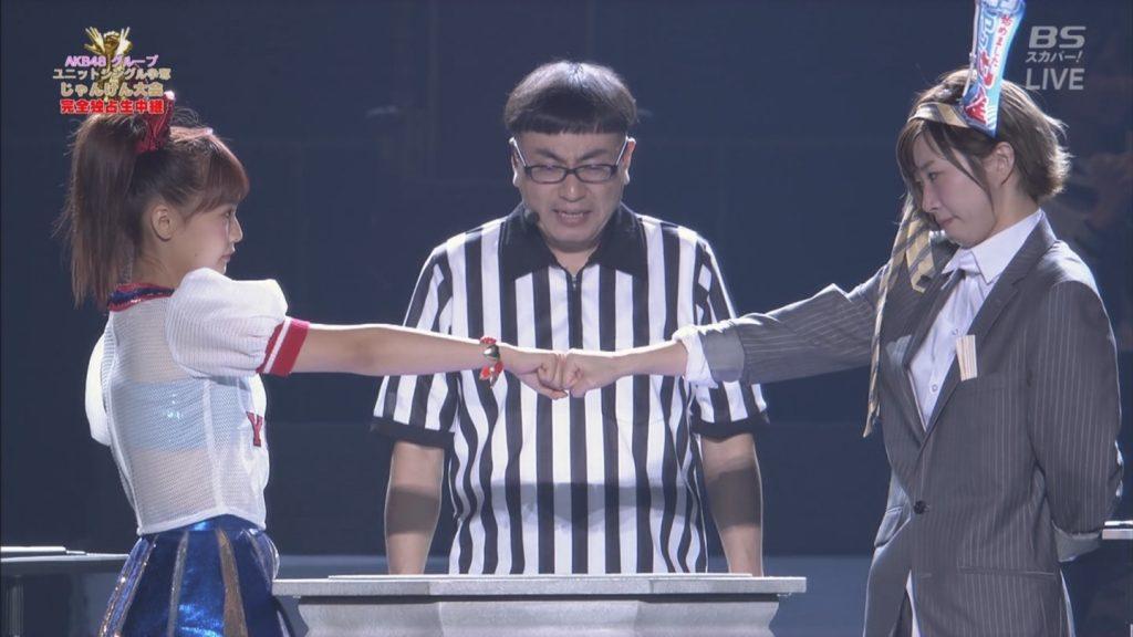 【※速報・朗報※】AKB48じゃんけん大会、小嶋菜月の乳が凄すぎて他全員かすむwwwwwwwwwwwwwwwwwwwwww(画像あり)・36枚目
