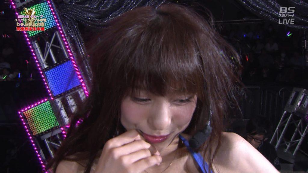 【※速報・朗報※】AKB48じゃんけん大会、小嶋菜月の乳が凄すぎて他全員かすむwwwwwwwwwwwwwwwwwwwwww(画像あり)・5枚目