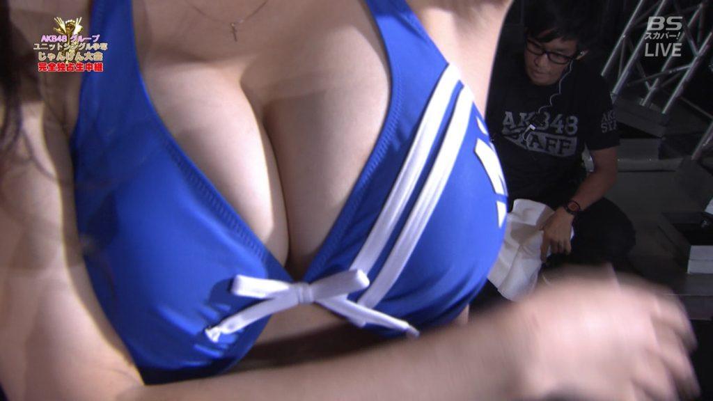 【※速報・朗報※】AKB48じゃんけん大会、小嶋菜月の乳が凄すぎて他全員かすむwwwwwwwwwwwwwwwwwwwwww(画像あり)・6枚目