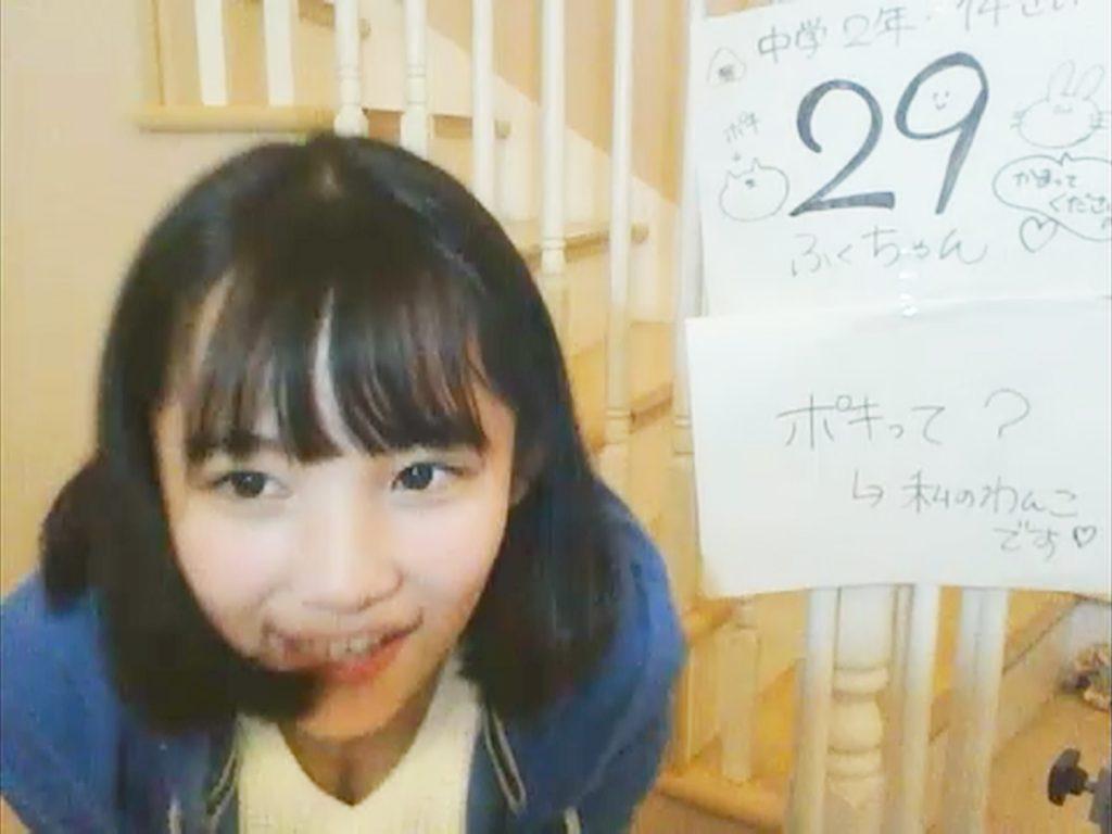 【※確信犯※】AKB48、16期生オーディション27番のパンモロと29番のポロリ露骨と話題にwwwJCのエロチャット状態で草wwwww(画像あり)・8枚目