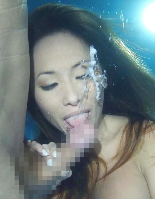 【※衝撃】水中で射精した時の精子の動きクッソワロタwwwwwwwwwwwwwwwwwwwwwwwwwwwwwwwwwwww(画像あり)・11枚目