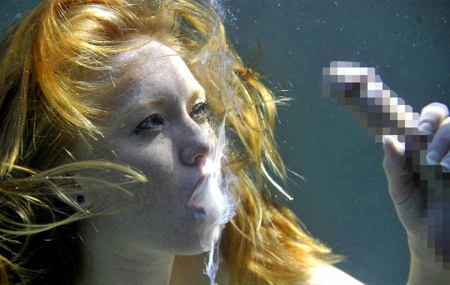 【※衝撃】水中で射精した時の精子の動きクッソワロタwwwwwwwwwwwwwwwwwwwwwwwwwwwwwwwwwwww(画像あり)・9枚目