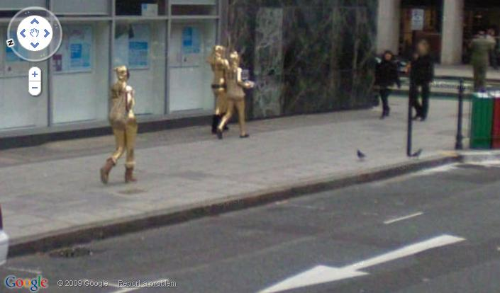【※画像あり】Googleマップのストリートビューに偶然映ったおっぱいを集めた結果。 ←これって盗撮にならないの?wwwwwww(画像多量)・4枚目