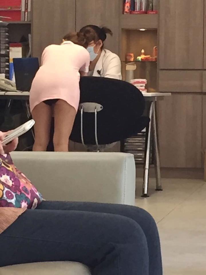 【※朗報】台湾のミニスカ歯科衛生士、エッッッッッッッッッッッッッッッッッッッッッッロ杉ワロタwwwwwwwwwwwwwwww(画像あり)・15枚目