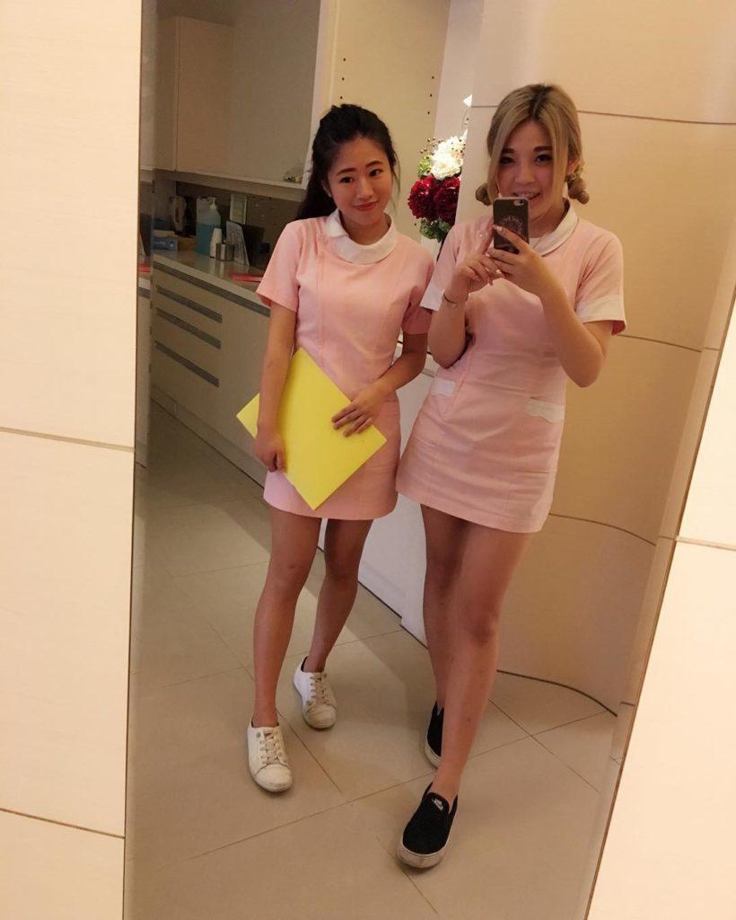 【※朗報】台湾のミニスカ歯科衛生士、エッッッッッッッッッッッッッッッッッッッッッッロ杉ワロタwwwwwwwwwwwwwwww(画像あり)・16枚目