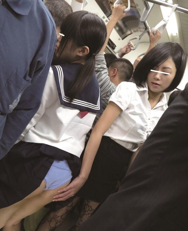 【※画像あり】満 員 電 車 で 女 が 女 に 痴 漢 さ れ て る 現 場 に 遭 遇 し た ン ゴwwwwwwwwwwwwwwwwwwwww(画像あり)・11枚目