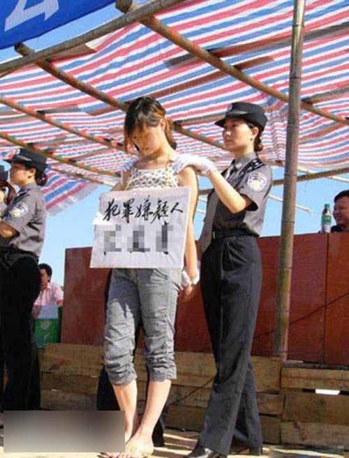 【※閲覧注意】田舎チャイナの女死刑囚の死刑執行の様子がコチラ、、、スーパー雑杉泣いた。。。(画像あり)・17枚目