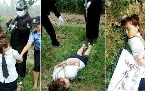 【※閲覧注意】田舎チャイナの女死刑囚の死刑執行の様子がコチラ、、、スーパー雑杉泣いた。。。(画像あり)・19枚目