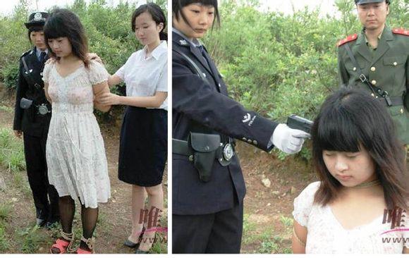 【※閲覧注意】田舎チャイナの女死刑囚の死刑執行の様子がコチラ、、、スーパー雑杉泣いた。。。(画像あり)・2枚目