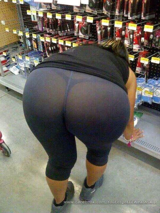 【※女性注意】まんの者「白スパッツは透けるからー黒にしといたろ!」 →貴方の尻はこうなっているwwwwww(画像あり)・5枚目