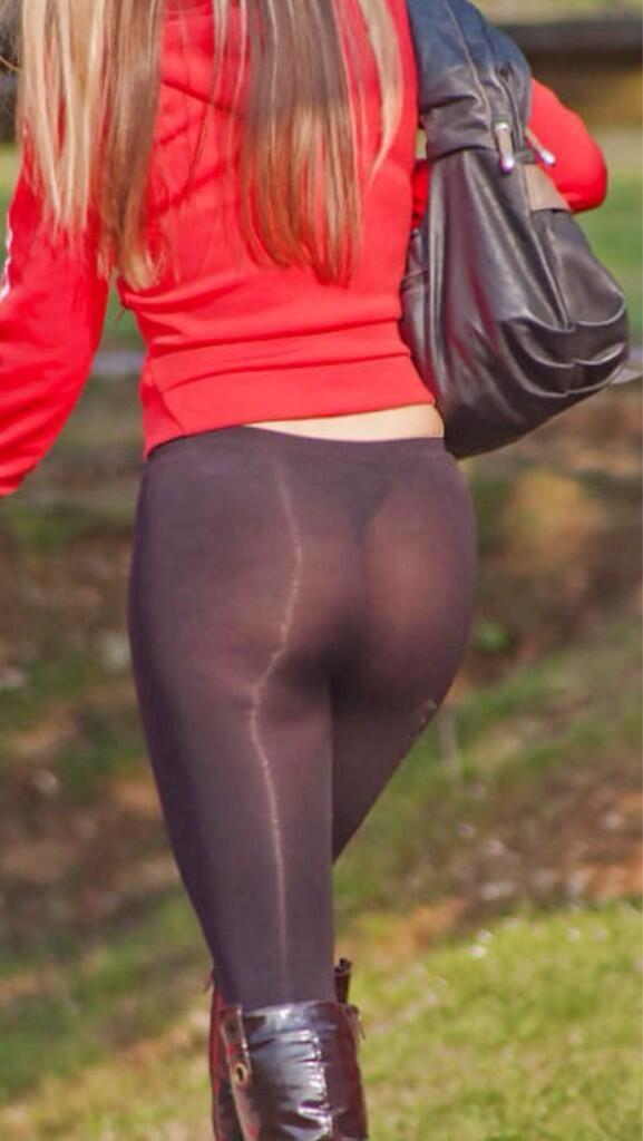 【※女性注意】まんの者「白スパッツは透けるからー黒にしといたろ!」 →貴方の尻はこうなっているwwwwww(画像あり)・8枚目