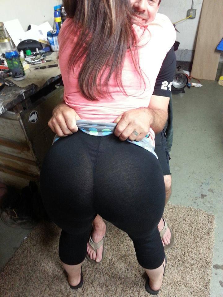 【※女性注意】まんの者「白スパッツは透けるからー黒にしといたろ!」 →貴方の尻はこうなっているwwwwww(画像あり)・23枚目