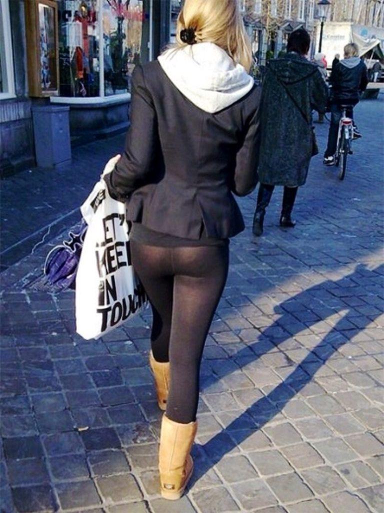 【※女性注意】まんの者「白スパッツは透けるからー黒にしといたろ!」 →貴方の尻はこうなっているwwwwww(画像あり)・25枚目