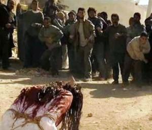 【※閲覧注意】イスラム教の美人性奴隷さんが石打ちの刑とかいう地獄の様な刑で処刑される姿をご覧下さい。(※画像あり)・3枚目