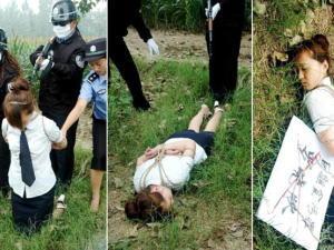 【※閲覧注意】田舎チャイナの女死刑囚の死刑執行の様子がコチラ、、、スーパー雑杉泣いた。。。(画像あり)