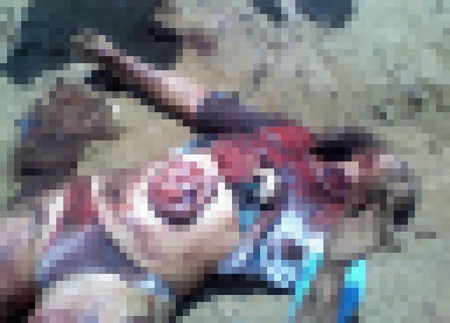【※超・閲覧注意※】レイプ殺人被害にあったJ〇、、、足が無い。(画像あり)・3枚目