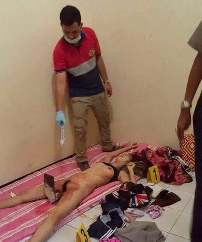 【※閲覧注意】レイプされてマンコから喉まで串刺しにされて殺された19歳JDの遺体・・(画像あり)・2枚目