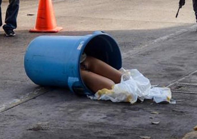 【※閲覧注意※】メキシコの路上のごみ箱を開けた結果・・・ん~~~~、メキシコorz(画像あり)・6枚目