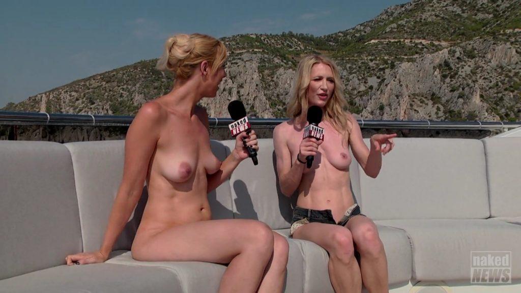 【※朗報】女子アナが全裸でニュースを伝える海外の番組エッッロwwwwwwwwwwwwwwwwwwwww(画像あり)・5枚目