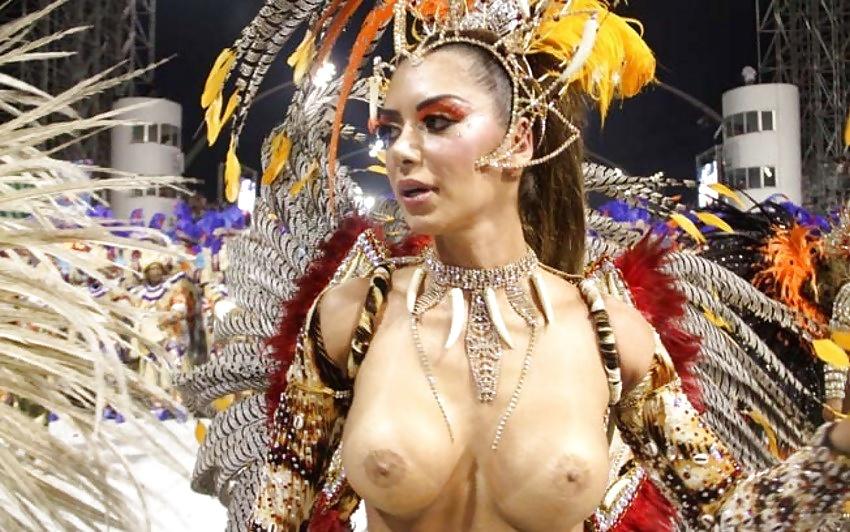 【画像あり】サンバカーニバルとかいう露出狂の集まり、逮捕レベルだろコレwwwwwwww・5枚目