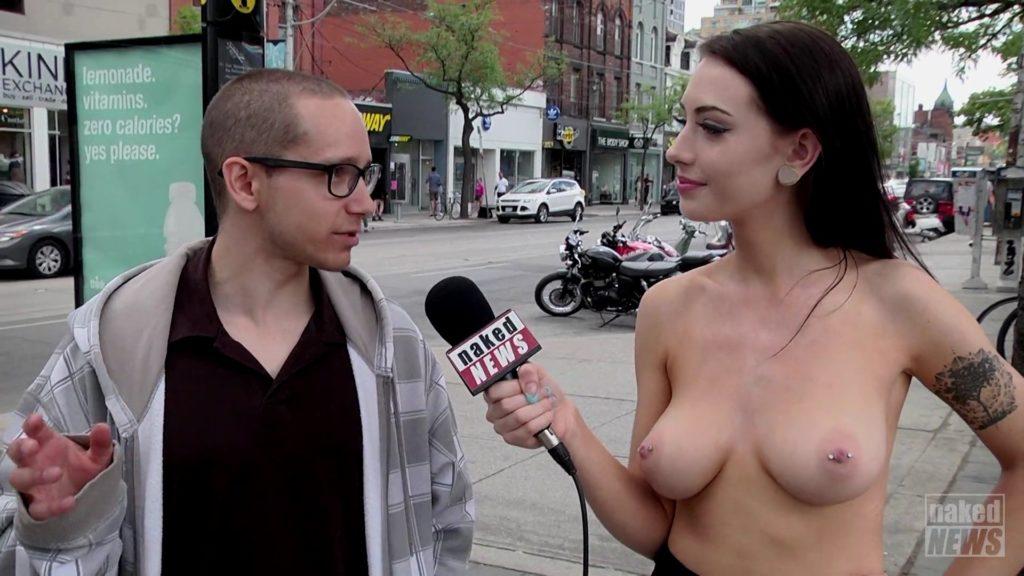 【※朗報】女子アナが全裸でニュースを伝える海外の番組エッッロwwwwwwwwwwwwwwwwwwwww(画像あり)・8枚目