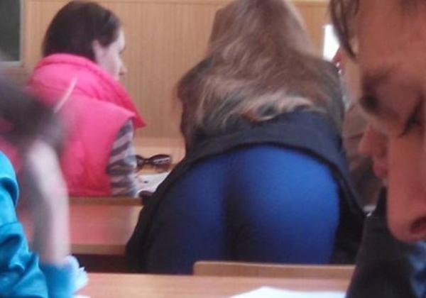 (美尻)海外の大学の授業風景がえろすぎる件wwwwwwwwwwwwwwwwwwwwww(写真あり)