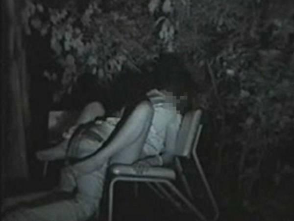 【※盗撮注意】深夜の公園を赤外線モードで撮影した結果wwwwwwwwww(画像あり)・10枚目