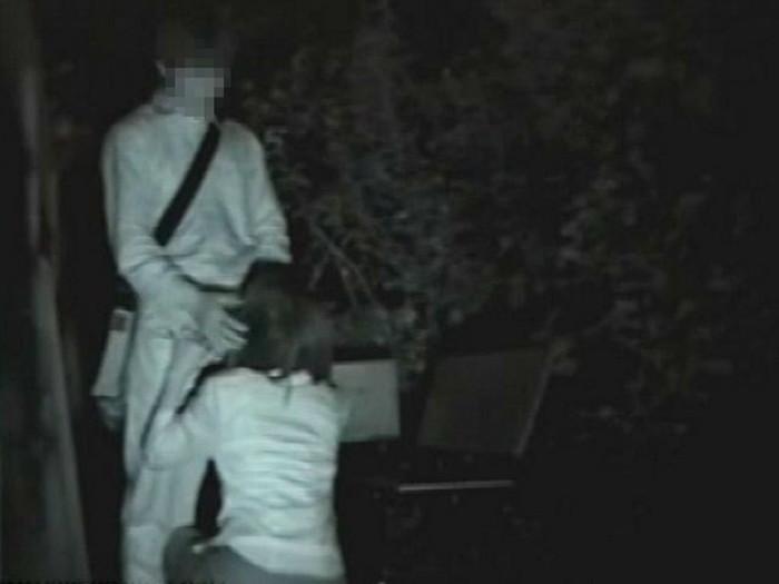 【※盗撮注意】深夜の公園を赤外線モードで撮影した結果wwwwwwwwww(画像あり)・13枚目
