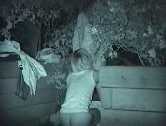 【※盗撮注意】深夜の公園を赤外線モードで撮影した結果wwwwwwwwww(画像あり)・1枚目