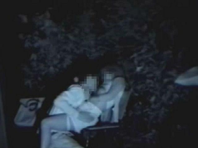 【※盗撮注意】深夜の公園を赤外線モードで撮影した結果wwwwwwwwww(画像あり)・17枚目