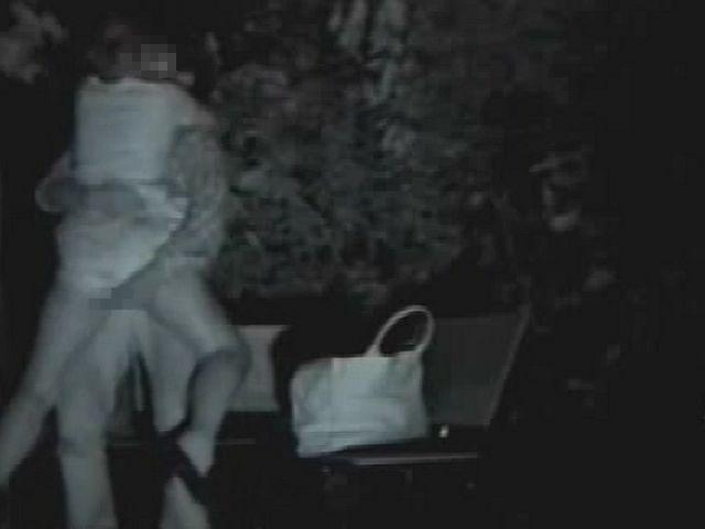 【※盗撮注意】深夜の公園を赤外線モードで撮影した結果wwwwwwwwww(画像あり)・18枚目