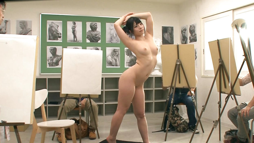 【※エロ画像】「これは芸術ですっ!」ヌードデッサンでSEXさせる異例な光景wwwwwwwwwwwww・27枚目
