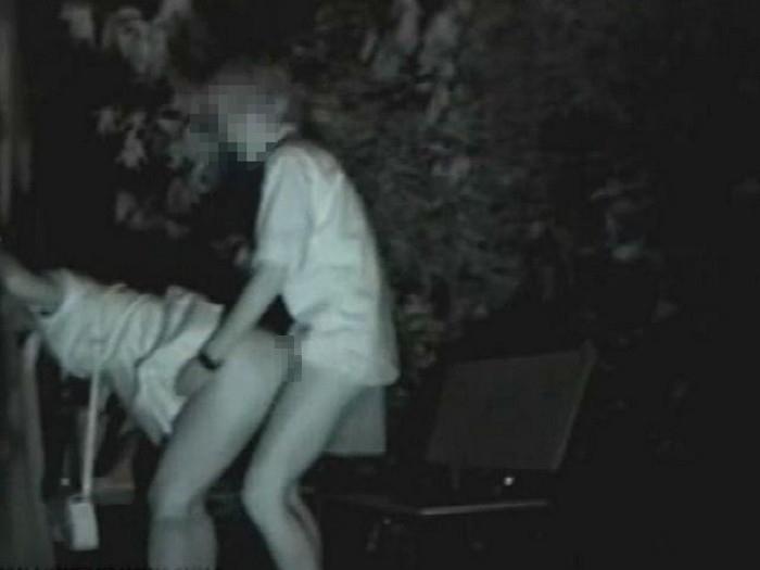 【※盗撮注意】深夜の公園を赤外線モードで撮影した結果wwwwwwwwww(画像あり)・24枚目