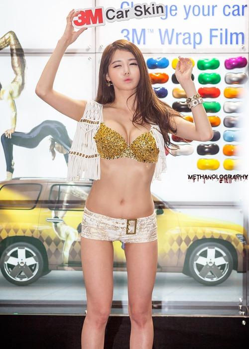 """【高レベル】韓国の美人キャンギャルさん、みんな同じような""""顔""""でワロタwwwwwwwwwww・13枚目"""
