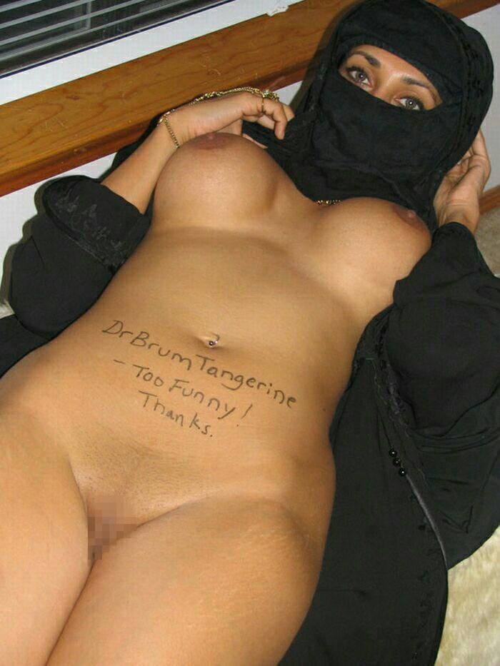 【※悲報】素顔を晒すイスラム女性、調子に乗って全裸アップし爆死wwwwwwwwwwww(画像あり)・20枚目