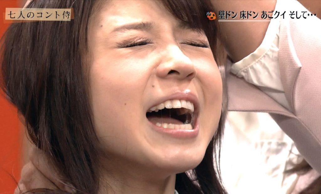 """【放送事故】女性芸能人がTVで晒した""""本 気""""のイキ顔がこちらwwwwwwwwwwwww(画像あり)・8枚目"""