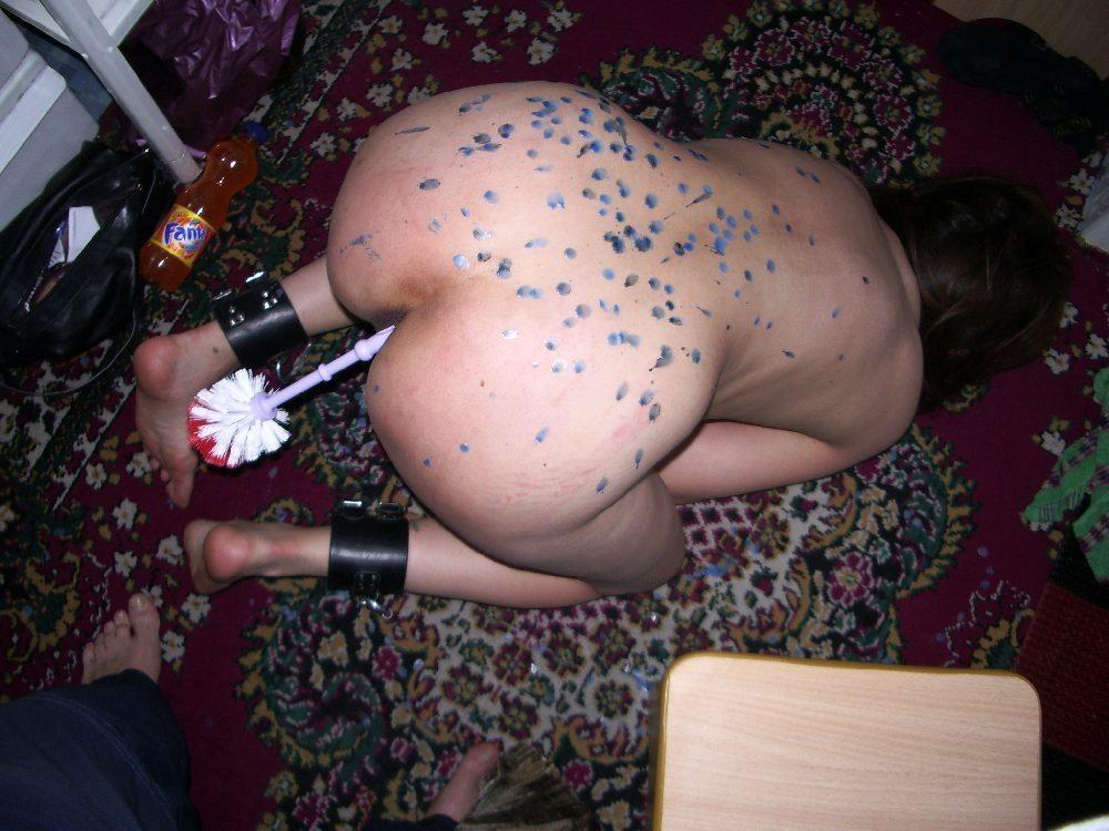 【衝撃】女を「性奴隷」として調教してる最中の光景がこちら・・・。(エロ画像)・24枚目