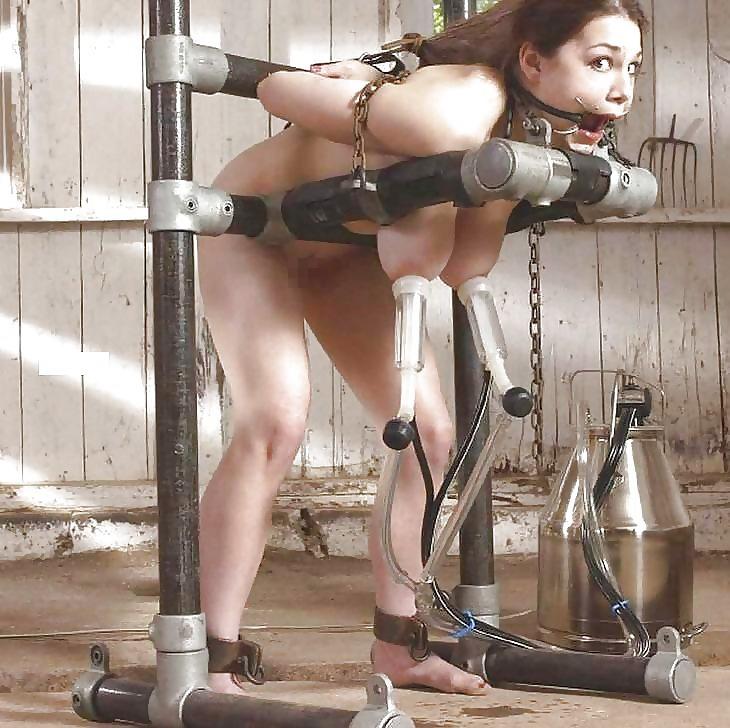 性奴隷だった女が家畜のように扱われてる姿がこちら・・・