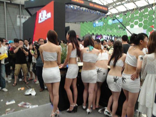 【流出】アジアゲームショーチャイナジョイのアフターで性接待させられる美人コンパニオンをご覧ください(画像あり)・10枚目